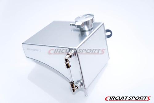 Circuit Sports Aluminum Coolant Overflow Reservoir Tank V2 for Nissan S13 240SX 89-94