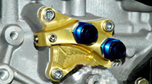 TOMEI N2 Oil Block Adapter - Nissan SR20DET