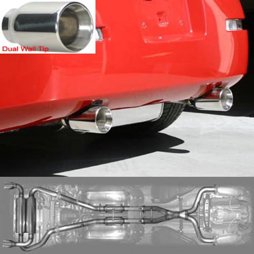 Stillen Cat-Back Exhaust 03-09 350Z - Dual Wall Tips - Stainless