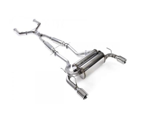 Stillen Cat-Back Exhaust 14-16 Q60 Rwd, 08-13 G37 2Dr Dual Wall Tip