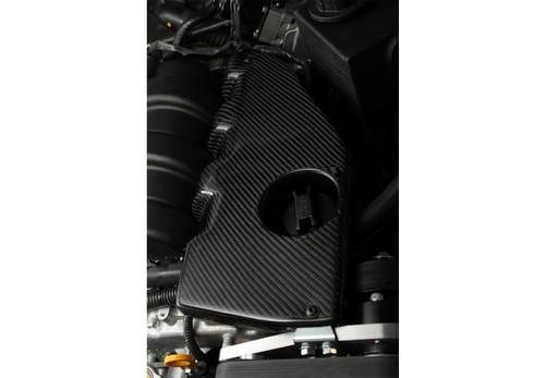Stillen Nissan / Infiniti Carbon Fiber Engine Cover - For Stillen Dual Throttle Body Supercharger