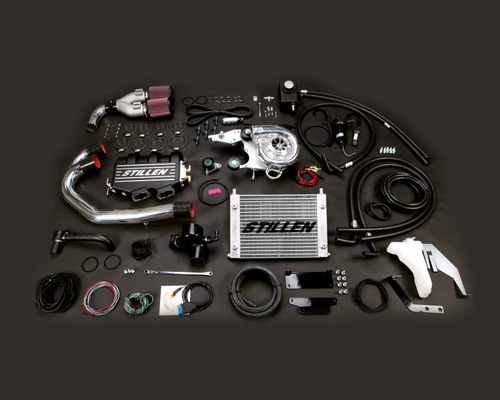 Stillen Supercharger System 12-17 370Z (Not Nismo) - Satin S/C (Pressurized Overflow)
