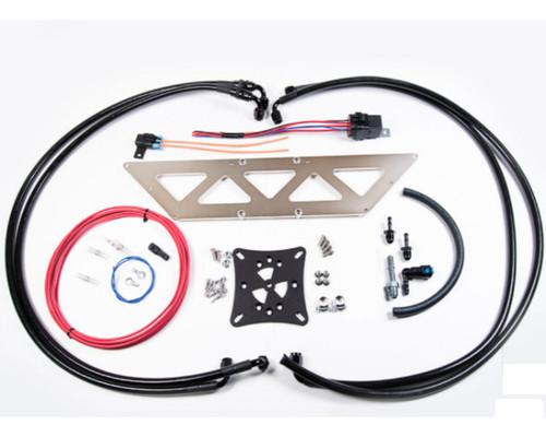 Radium Fuel Surge Tank Kit, Mitsubishi Evo 8-9, Fst Sold Separately