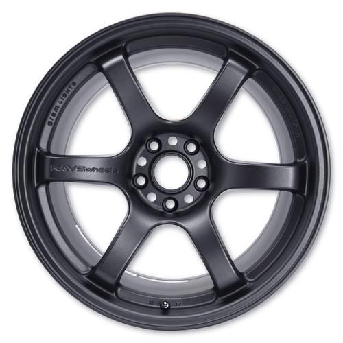 GramLights Gun Blue 57DR Wheel 18x9.5 5x114.3 22mm