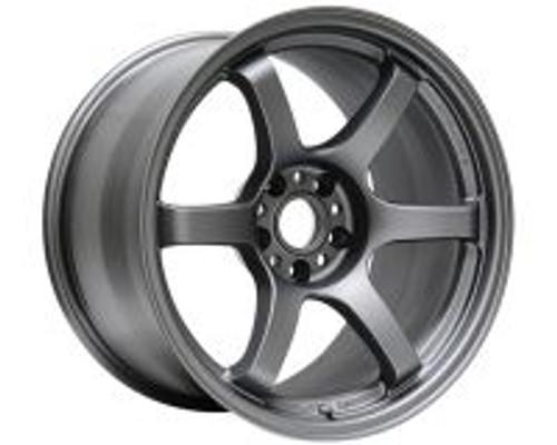 GramLights Matte Graphite 57DR Wheel 18X8.5 5x108 38mm