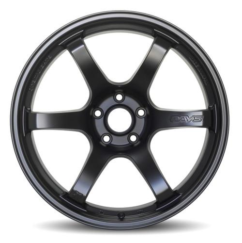 GramLights Semi Gloss Black 57DR Wheel 17X9 5x100 38mm