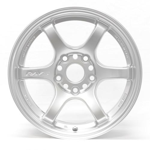 GramLights Sunlight Silver 57DR Wheel 15x8 4x100 28mm