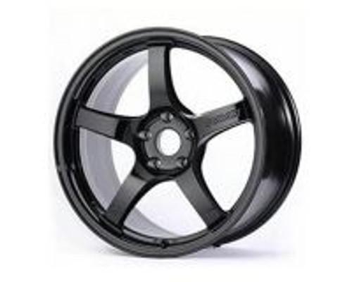 GramLights Glossy Black 57CR Wheel 18x10.5 5x114.3 22mm