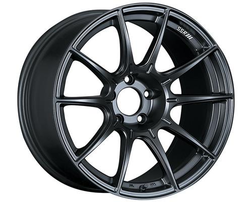 SSR GTX01 Wheel Flat Black 18x7.5 5x114.3 53mm