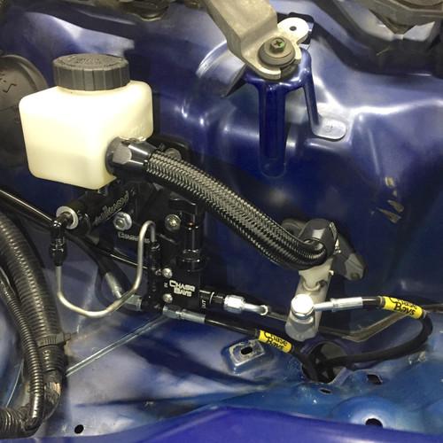 Chase Bays Brake Line relocation Inbay BBE for Nissan 350Z/G35