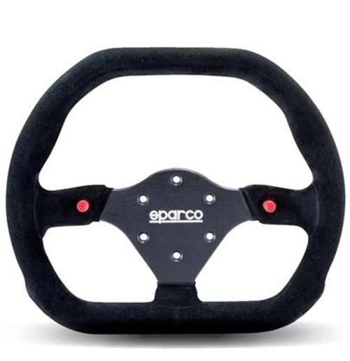 Sparco Steering Wheel -  310X260 SUEDE BLACK