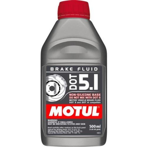 Motul DOT 5.1 Brake Fluid 0.500L