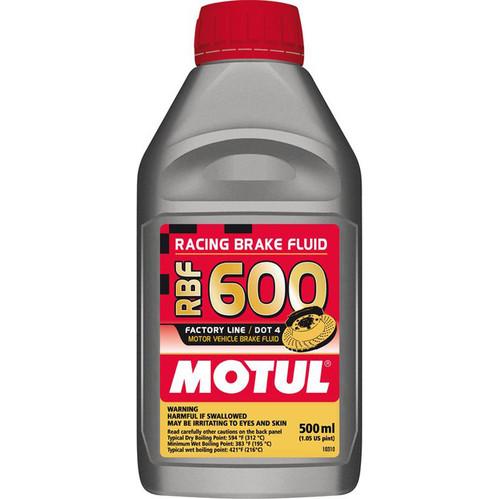 Motul Racing Brake Fluid 600 FL 0.500L