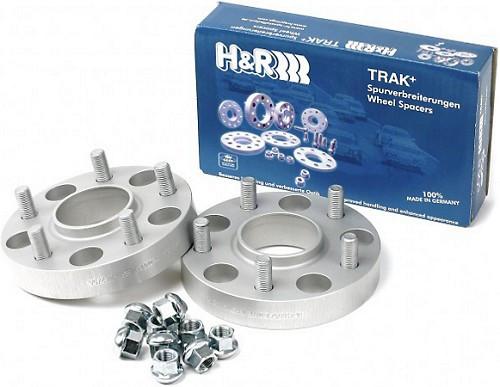 H&R Trak+ 15mm DRM Wheel Adaptor Bolt 5/114.3 Ctr Bore 67.1 Stud Thread 12x1.5 09+ Genesis (Pair)