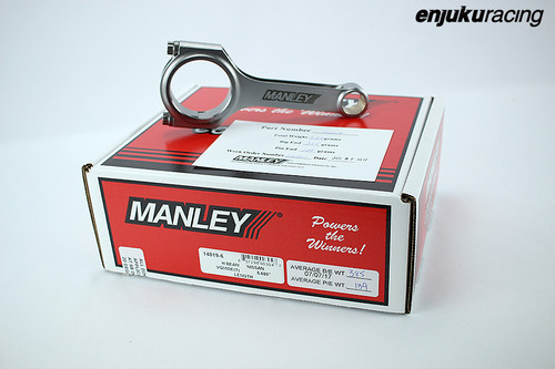 Manley H Beam Forged Connecting Rods for VQ35DE