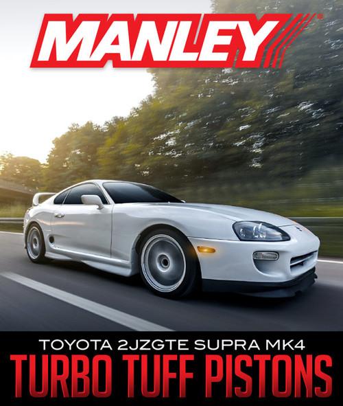 Manley Turbo Tuff 2JZGTE Piston Set