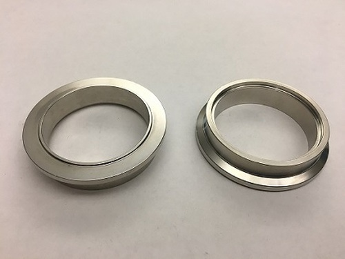 ATP Stainless Downpipe Flange for V-Band Housing on GT28, GTX28 Series