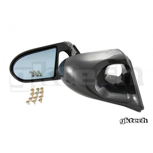 GKtech Aero Mirrors for Nissan 240SX S13 RHD