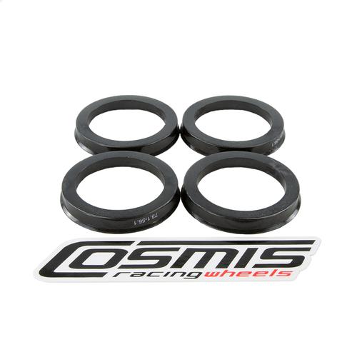 Cosmis Racing Hub Centric Rings (Set of 4) 73.1 to 66.1