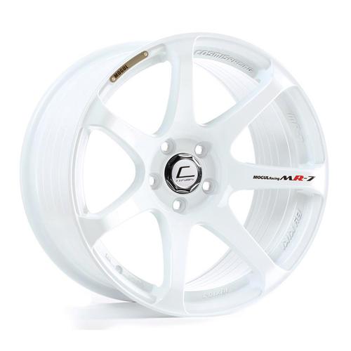 Cosmis Racing MR7 White Wheel 18x9 +25mm 5x100