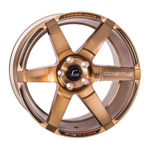 Cosmis Racing S1 Hyper Bronze 18x10.5 +5mm 5x114.3 Wheel