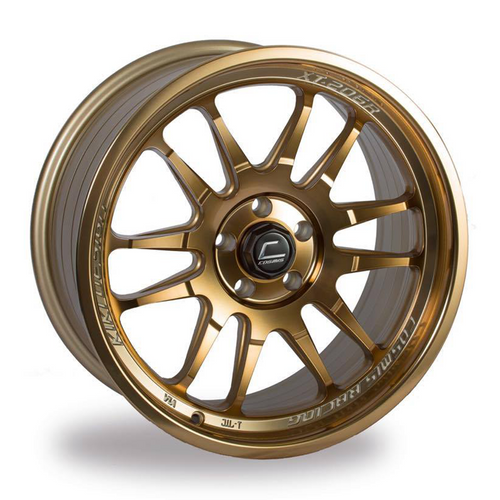 Cosmis Racing XT-206R Hyper Bronze Wheel 17x8 +30mm 5x100
