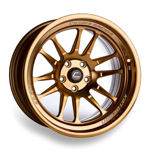 Cosmis Racing XT-206R Hyper Bronze Wheel 18x11 +8mm 5x114.3