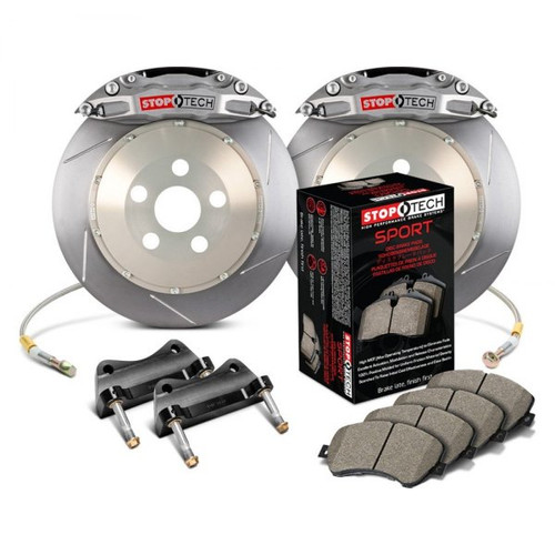 StopTech Trophy Slotted Front Brake Kit Street Pads for Scion FR-S Subaru BRZ