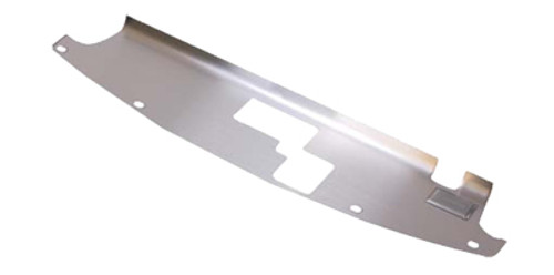 NRG Stainless Steel Air Diversion Panel - Nissan 350Z 03-06
