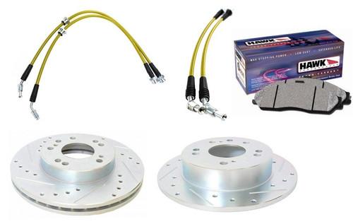 ER Spec - Z32 Brake Swap Kit for Nissan 240SX S13 S14 S15