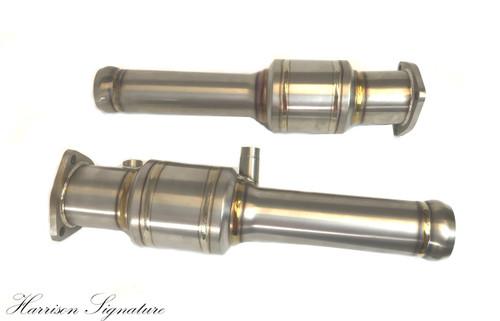 Harrison Signature - Titanium High Flow Catalytic Converters - Aston Martin V8 Vantage 2005+