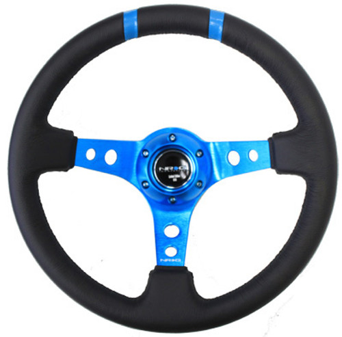 """NRG 350mm Sport Steering Wheel Limited Edition(3"""" Deep) - Various Colors"""