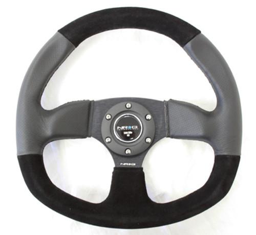NRG 320mm Flat Bottom Series Steering Wheel