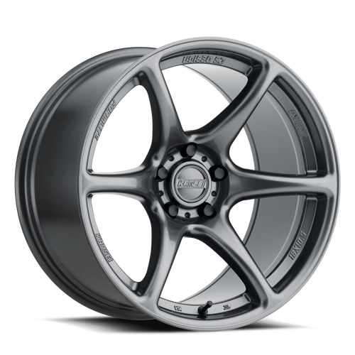 Kansei Wheels Tandem Gunmetal 18X9 5X114.3 +12