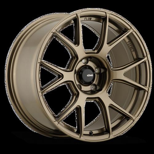 Konig Ampliform 18X8.5 5X108 ET43 Gloss Bronze