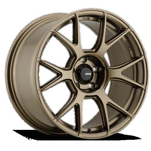Konig Ampliform 18X8.5 5X112 ET43 Gloss Bronze