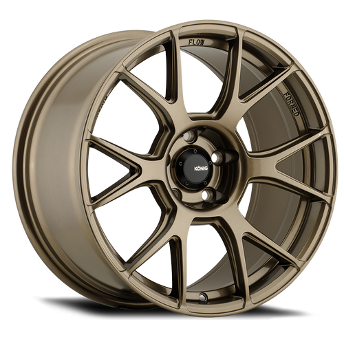 Konig Ampliform 18X9.5B 5X120 ET35 Gloss Bronze