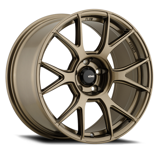 Konig Ampliform 19X10.5 5X114.3 ET23 Gloss Bronze
