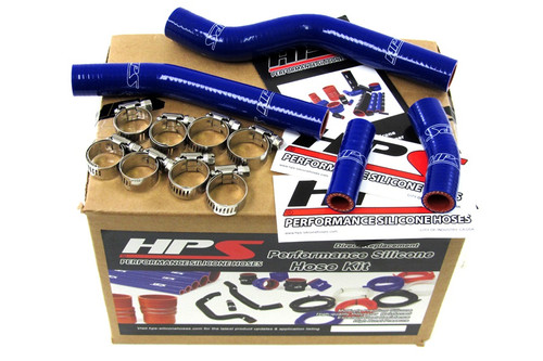 HPS Performance Blue Reinforced Silicone Radiator Hose Kit Coolant for Yamaha??í07-09 WR450F