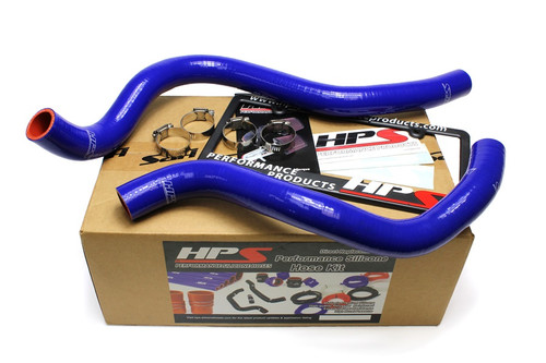 HPS Performance Reinforced Blue Silicone Radiator Hose Kit Coolant for Acura 99-03 TL 3.2L V6