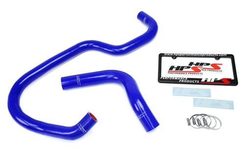 HPS Performance Blue Reinforced Silicone Radiator Hose Kit Coolant for Chevy 07-13 Silverado 4.8L 5.3L 6.0L 6.2L V8