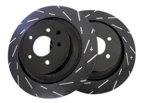 EBC Ultimax USR Slotted Rotors (Front) - Nissan 240SX Z32 Brakes