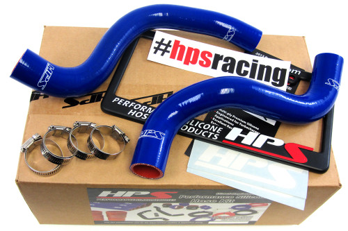 HPS Performance Blue Reinforced Silicone Radiator Hose Kit Coolant for Lexus 11-13 CT200h