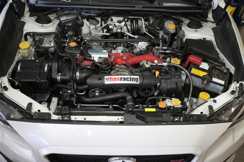 HPS Performance Black Reinforced Silicone Radiator + Heater Hose Kit for Subaru 15-16 WRX STI 2.5L Turbo