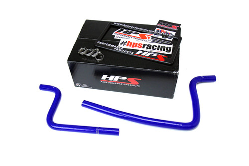 HPS Performance Reinforced Blue Silicone Heater Hose Kit Coolant for Jeep 97-02 Wrangler TJ 2.5L 4Cyl