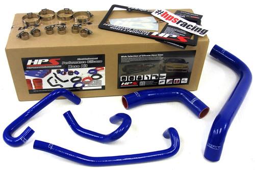HPS Performance Blue Reinforced Silicone Radiator + Heater Hose Kit for Toyota 04-06 Tundra 4.7L V8 Left Hand Drive