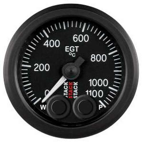 Stack 52mm Pro-Control Gauge - Exhaust Gas Temperature