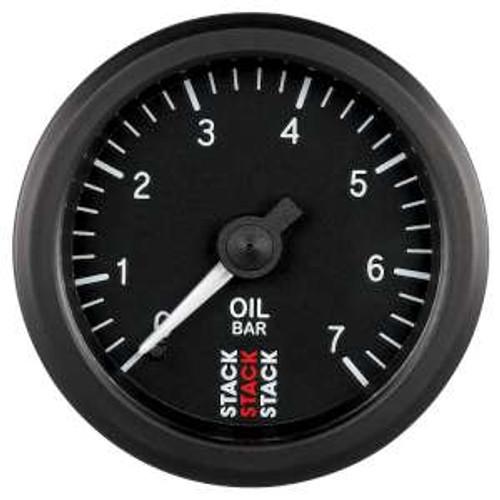 Stack 52mm Professional Stepper Motor Analogue Gauge - Oil Pressure