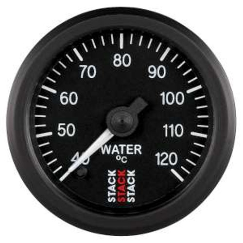 Stack 52mm Professional Stepper Motor Analogue Gauge - Water Temperature