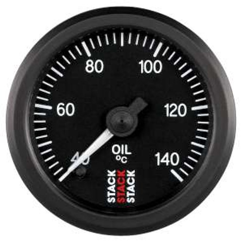 Stack 52mm Professional Stepper Motor Analogue Gauge - Oil Temperature